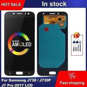 Жк-дисплей AMOLED 5,5 дюйма для Samsung Galaxy J730, J730F, J7 Pro 2017, жк-дисплей с сенсорным экраном и дигитайзером в сборе для Samsung J730, дисплей