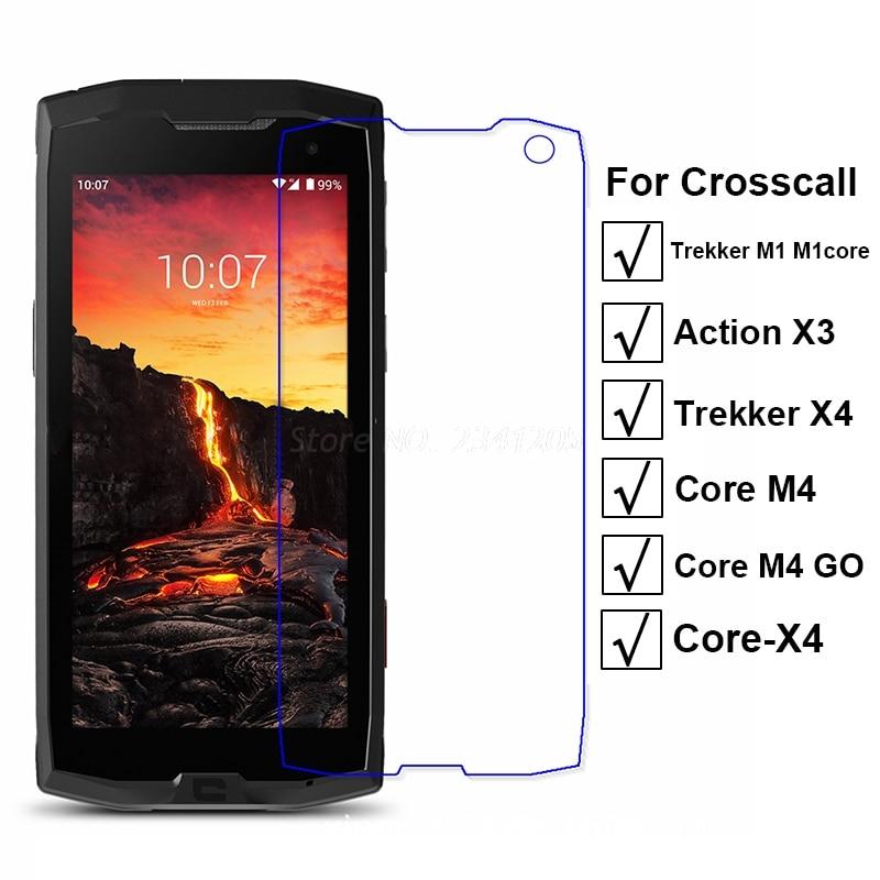 10-1PC de vidrio templado para Crosscall Trekker X4 M1 núcleo de vidrio en acción croscall X3 Protector de pantalla para Crosscall Core X4 M4 GO