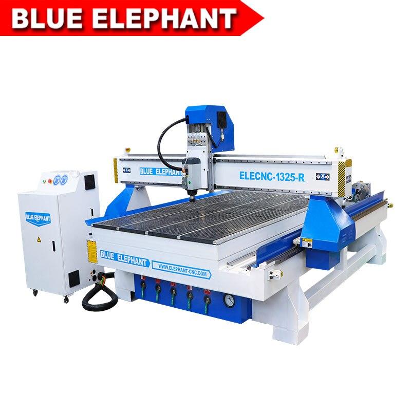 Elefante azul 1325 roteador cnc para cortar/gravura de madeira, acrílico, mdf, metal macio