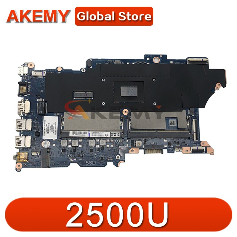 AKemy محمول لوحة رئيسية لأجهزة HP Probook 445 G6 2500U اللوحة DA0X9KMB8C0 اختبار