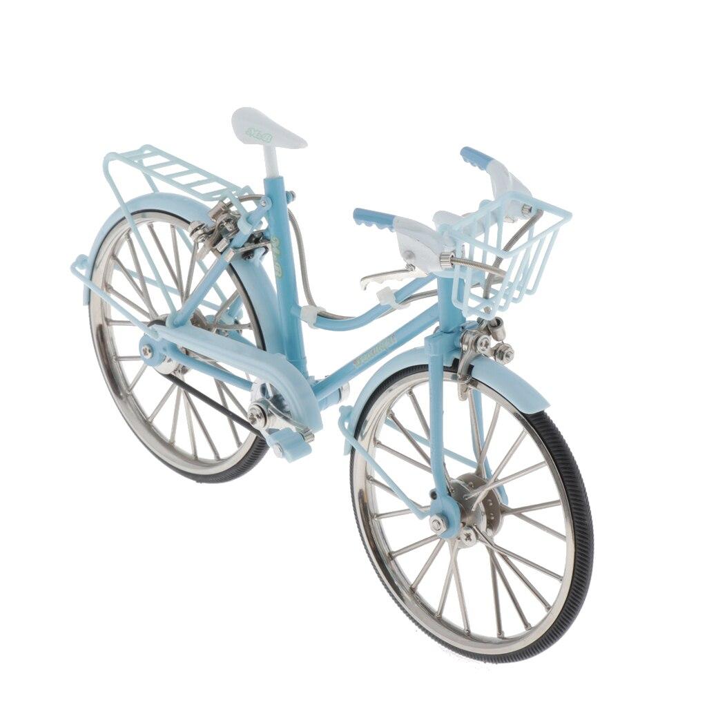 110 bicicleta modelo miniatura para niños juguetes regalo decoración del hogar/ornamento/recuerdo estudio habitación decoración de escritorio