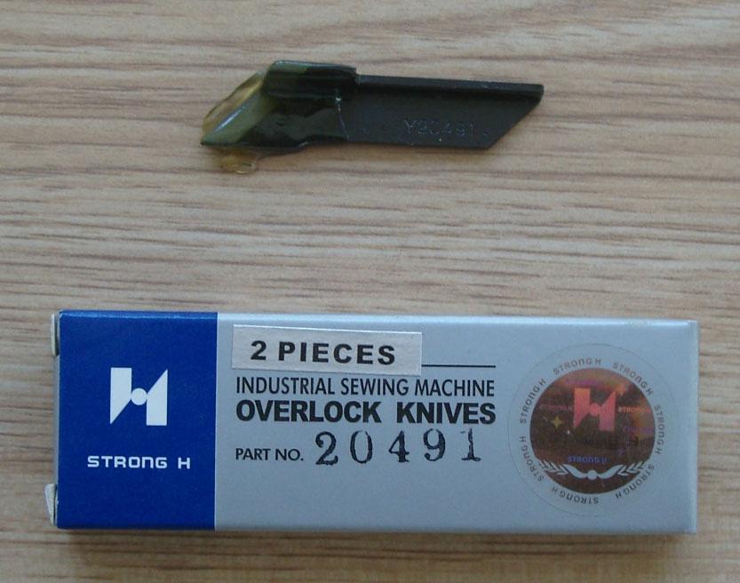 20491 STRONG.H brand REGIS for YAMATO AZ6000 AZ8000 corner blade industrial sewing machine spare parts Y20491