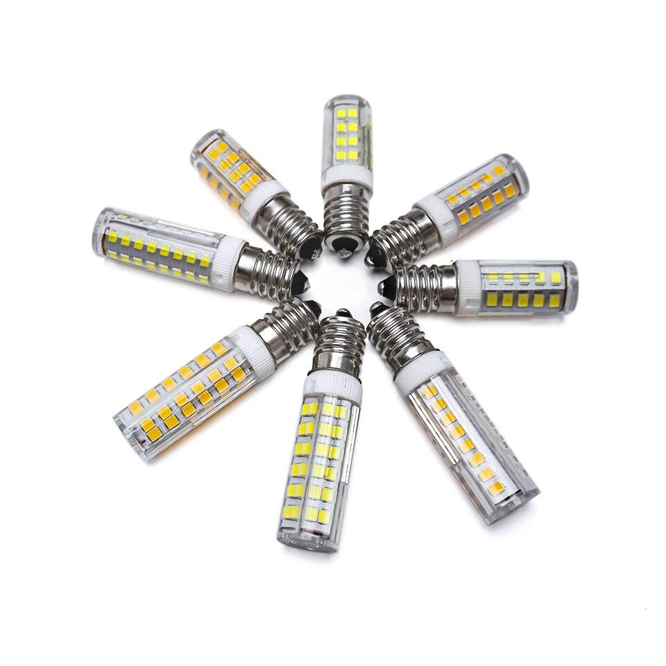 E14 Светодиодная лампа 5 Вт 7 Вт 9 Вт 12 Вт 220 В 230 в 240 В светодиодная кукурузная лампа 33 51 75 86 SMD2835 360 лучей высокое качество Керамическая Мини-люст...