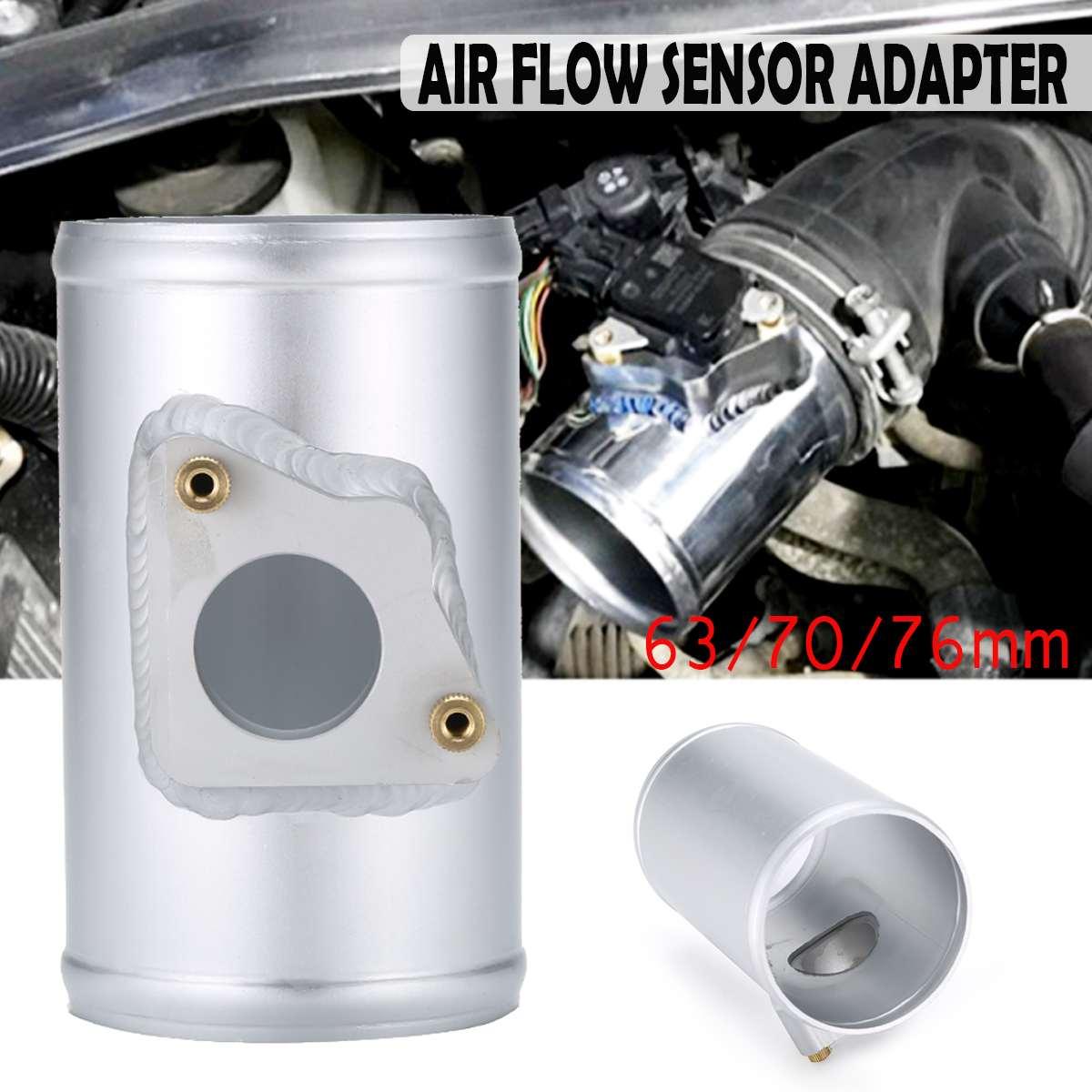 Air Flow Sensor Adapter Performance Air Intake Meter Mount 63 70 76mm for TOYOTA for MAZDA 3 6 for SUBARU SUZUKI SWIFT JIMNY MAF