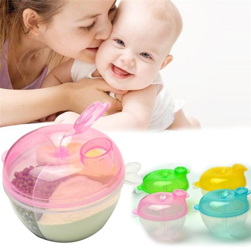 Baby Milk Powder Formula Dispenser Feeding Food Container Infant Storage Feeding Box Toxic-free Kids Baby Bottle Container