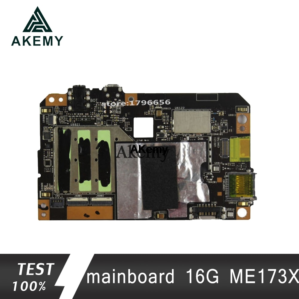 Akemy ME173X placa base de tableta PC para ASUS ME173X ME173 ME17 placa base original 16G
