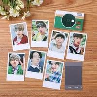 kpop bangtan boys poster lomo cards postcards 2021 seasons greetings card fans collection jimin jung kook jin suag j hope rm