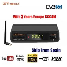 Freesat V7s HD CCcam Satellite Receiver +3 Year Europe Spain CCcam  Clines Server+USB WIF Device DVB-S2 Satellite HD Receiver