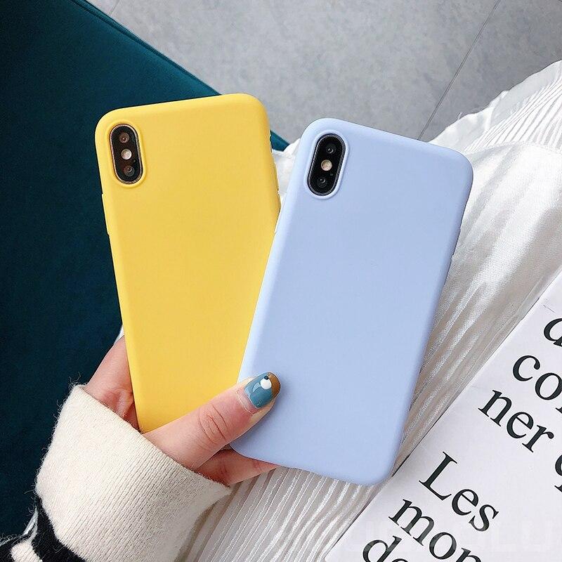 For Xiaomi Mi 9 9t Pro Mi9 Se Mi 8 Lite Mi8 Mi9t 5X 6X A3 A1 A2 Lite Mix 2s Pocophone F1 Candy Silicone Case Cover Etui Coque
