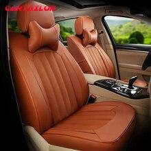 Cartailleur-housse de siège de voiture   En cuir de vache, style pour Land Rover Range Rover, housses de siège Automobiles, accessoires dintérieur pour voitures