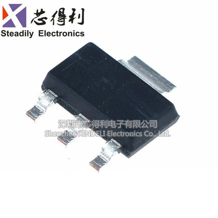 10 шт./лот абсолютно новый и оригинальный STN1HNK60 патч SOT223 полевой эффект транзистор 1А/600 в N-Channel MOS транзистор