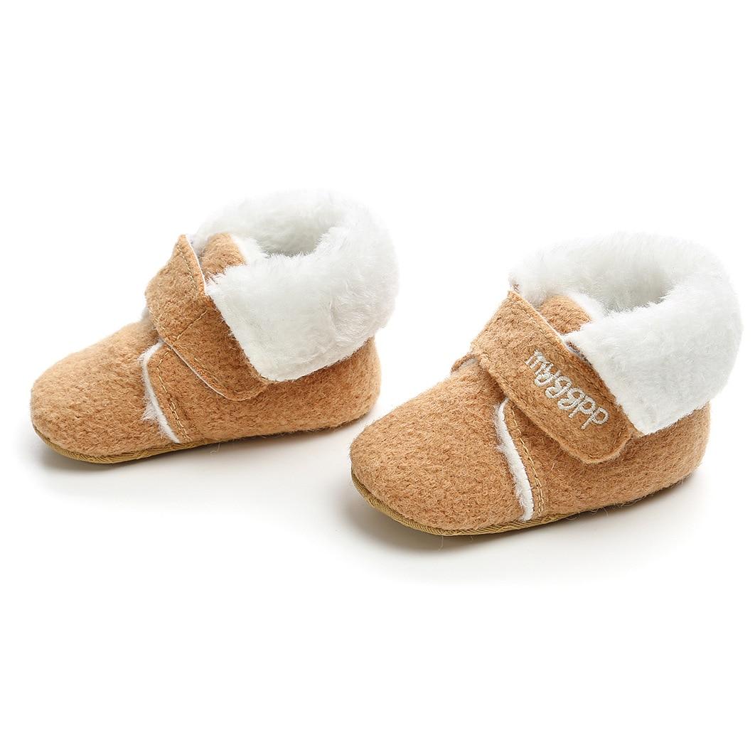 Baby Girls Boys Winter Keep Warm Shoes First Walkers Sneakers Kids Crib Infant Toddler Footwear Boots Newborns Prewalkers boots tiflani 10924830 baby shoes footwear of boys and girls for kids