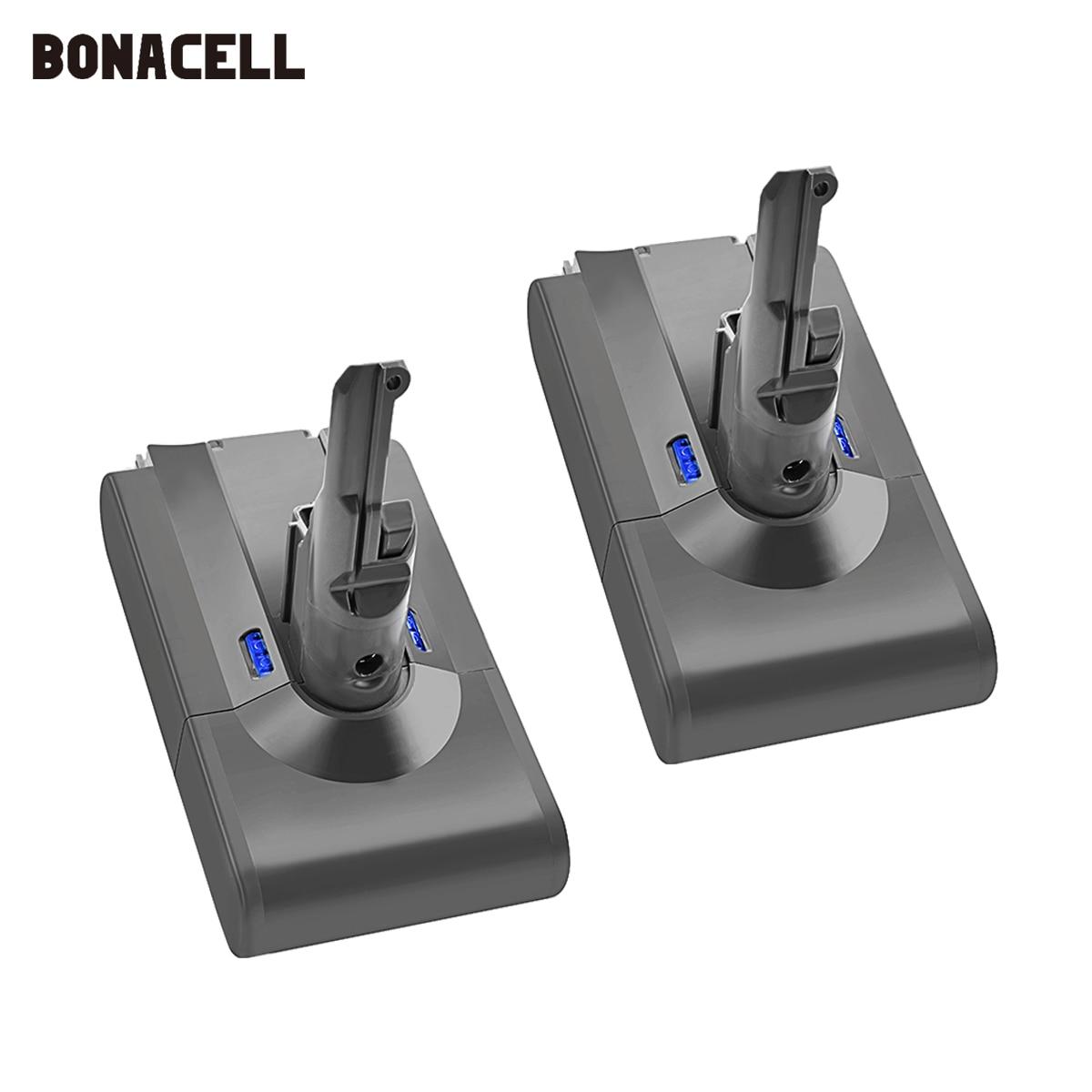Bonacell V8 4000mAh 21.6V Battery For Dyson V8 Battery Absolute V8 Animal Li-ion SV10 Vacuum Cleaner Rechargeable BATTERY L70