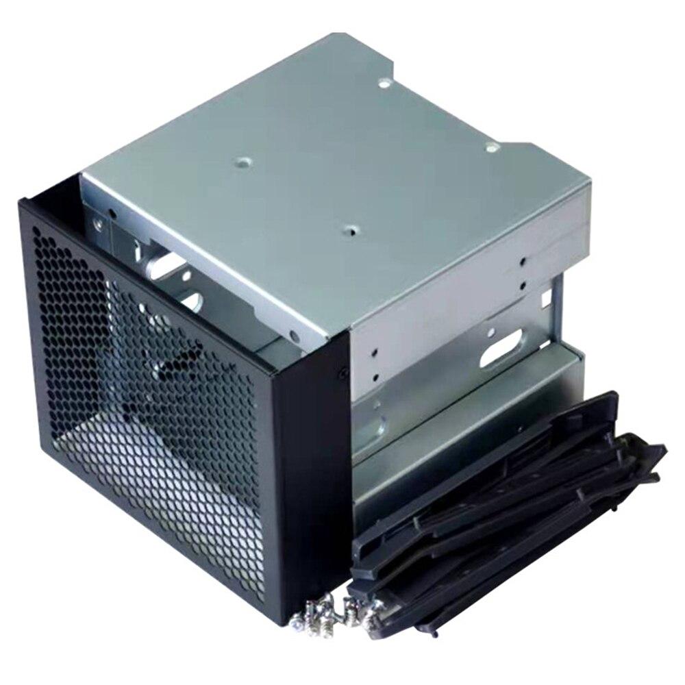 وصل حديثا 2021 3.5 بوصة SATA SAS HDD قفص رف قوس 3 الخلجان محرك الأقراص الضوئية إلى 4 خليج القرص الصلب صينية محول للكمبيوتر