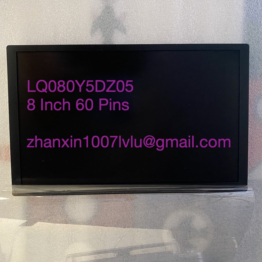 New 8 Inch 60 Pins LCD Display Panel LQ080Y5DZ05 For Ford Car DVD Audio Radio Multimedia Player GPS Navigation