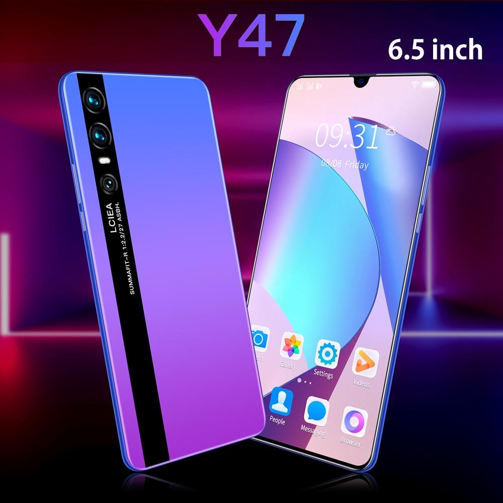 أرخص هاتف ذكي CECTDIGI Y47 أندرويد 9.0 2GB RAM 16GB ROM 6.5 بوصة شاشة كبيرة الهاتف الذكي مقفلة المزدوج سيم الهاتف المحمول