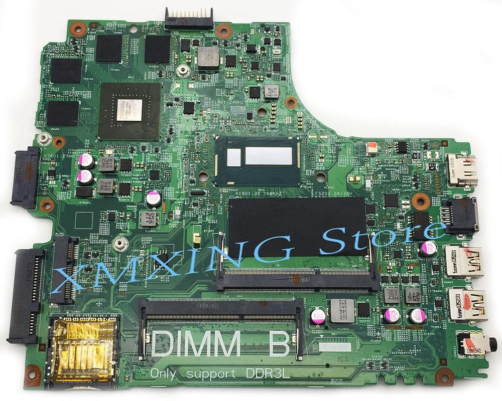 FULCOL لديل انسبايرون 3437 5437 كمبيوتر محمول اللوحة I7-4500U CPU GT750M GPU CN-01C6NT 01C6NT 1C6NT اختبار 100% العمل