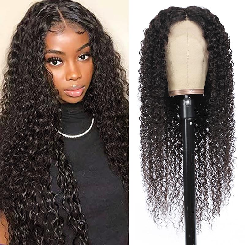 peruca de cabelo humano com renda frontal cabelo longo crespo encaracolado colorido