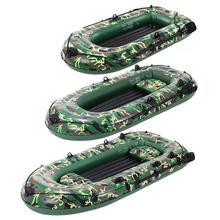 Bateau de pêche gonflable épais de bateau de PVC de la personne 10ft 2/3/4 Double bateau gonflable de Rafting de Kayak avec le bateau de canoë de pompe à Air de pagaies