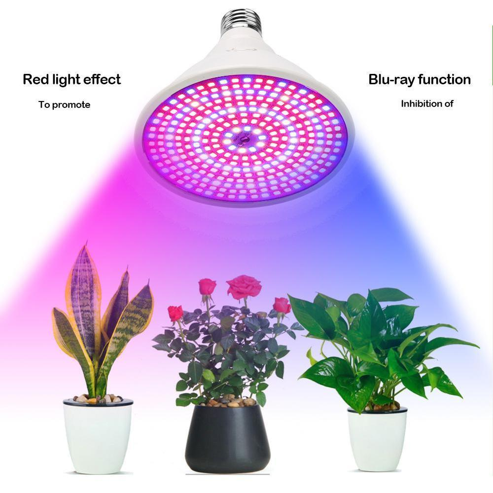 30w 1500lm Led Grow Light Full Spectrum UV Phyto Lamp for Indoor Plants Growth Seeds of Greenhouse Indoor Flowers Growing