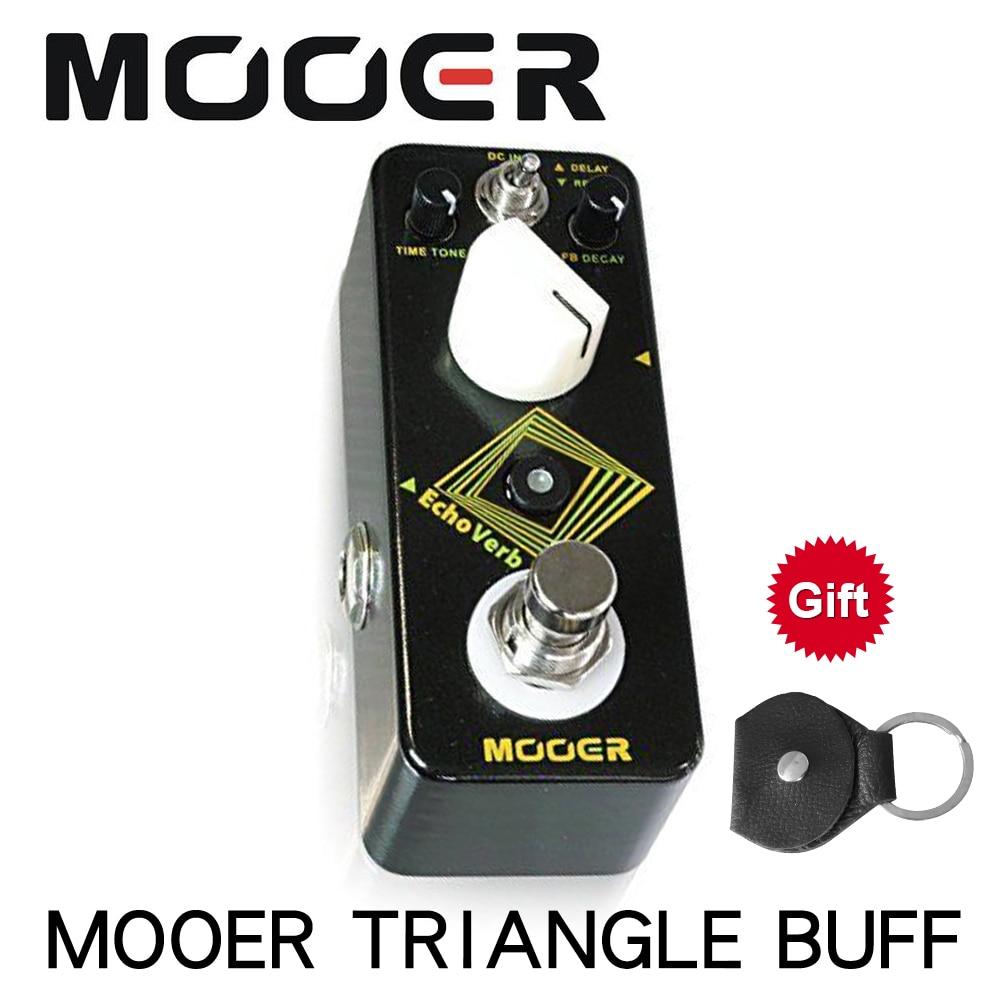 MOOER MDV1 EchoVerb Digital Delay Reverb Guitar Effect Pedal True Bypass Full Metal Shell