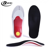 Premium Orthotic Gel High Arch Support Insoles Gel Pad 3D Arch Support Flat Feet For Women / Men ort