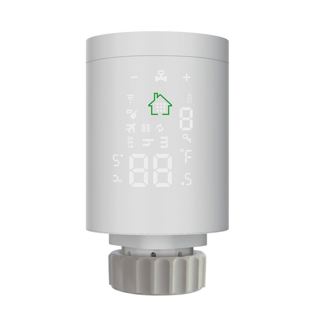 Válvula de Radiador Válvula de Radiador de Controle de Aplicativo de Telefone Ajuste de Temperatura Top-inmax Tuya Inteligente Controle Aplicativo Telefone Móvel Ztrv01 3.0 de