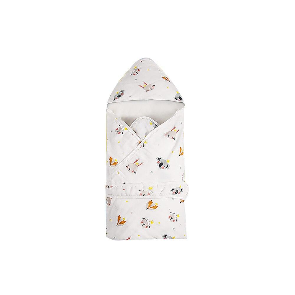 Baby Swaddle Blanket Cotton Sleeping Bag Newborn Wrap Infant Bed Envelope Sleep Sack Soft Toddler Crib Bedding Nursery