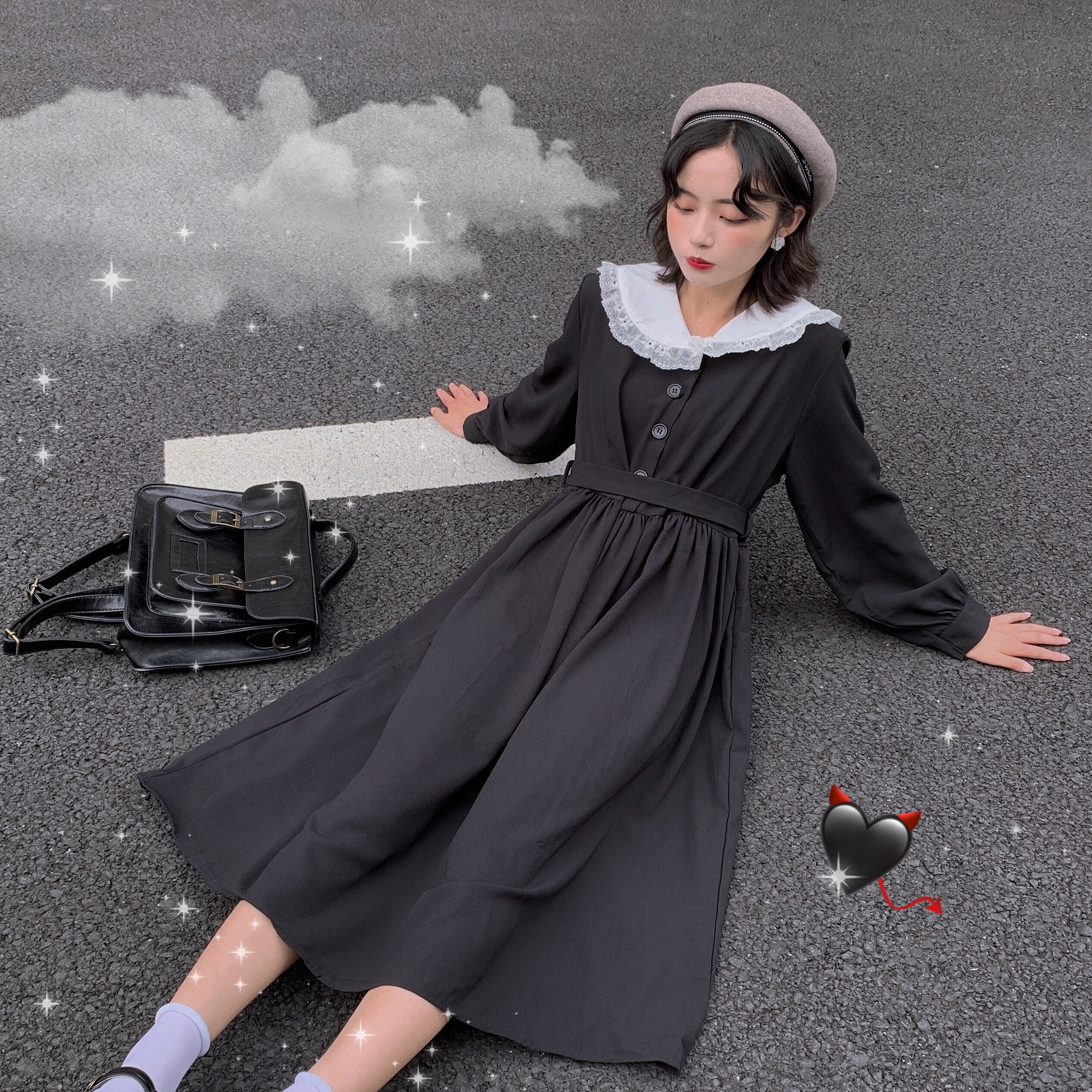 Goth Harajuku By Saru