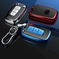2020 New style Hight quality TPU key case cover protective shell for Hyundai Long Move IX35 Sonata 8 Kia Chi Ran K2 Furui Di k5