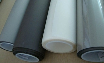! Light weight and easy to install,1.524M*6M White color rear projection film(shop window)