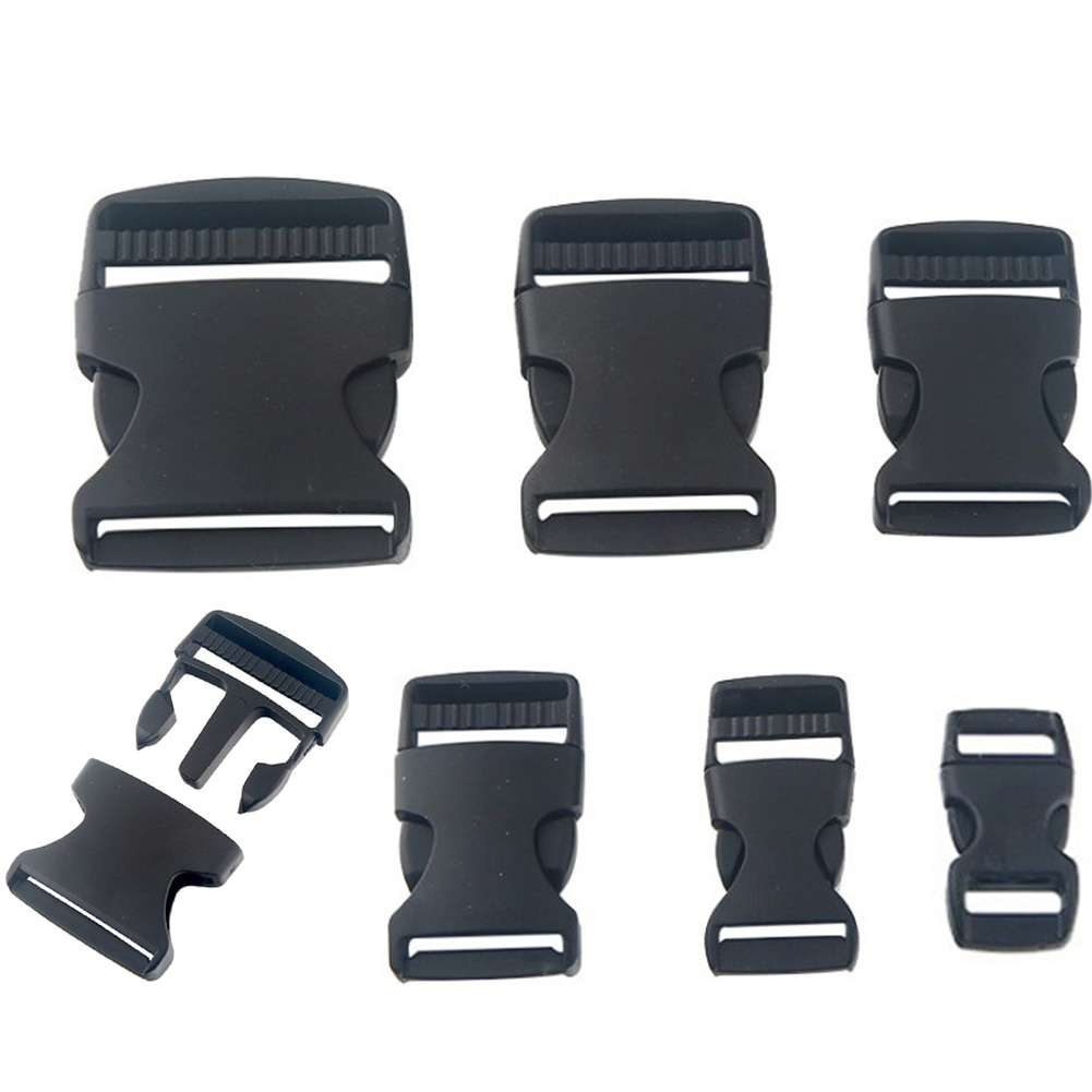 10mm 20mm 25mm 38mm 50mm Webbing Detach Buckle for Sports Bags Students Bags  Luggage travel buckle