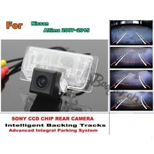 For Nissan Teana / Altima 2013~2016 Car Reverse Rear Camera with Parking Assistance Tracks Module /