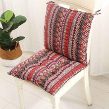 1 세트 광장 의자 패드 두꺼운 좌석 쿠션 다이닝 파티오 홈 오피스 실내 야외 정원 소파 엉덩이 쿠션 40x40cm