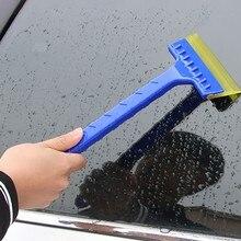 متعددة الوظائف المحمولة زجاج سيارة مكشطة ثلج مجرفة الثلج فرشاة إزالة حاجب زجاجي للسيارة ممسحة لوحة جديد