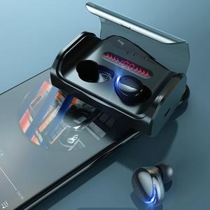 T8 TWS Wireless Bluetooth-compatible 5.0 Earphones Stereo Handsfree Touch Control Earbuds Waterproof HIFI Headphones LED Display