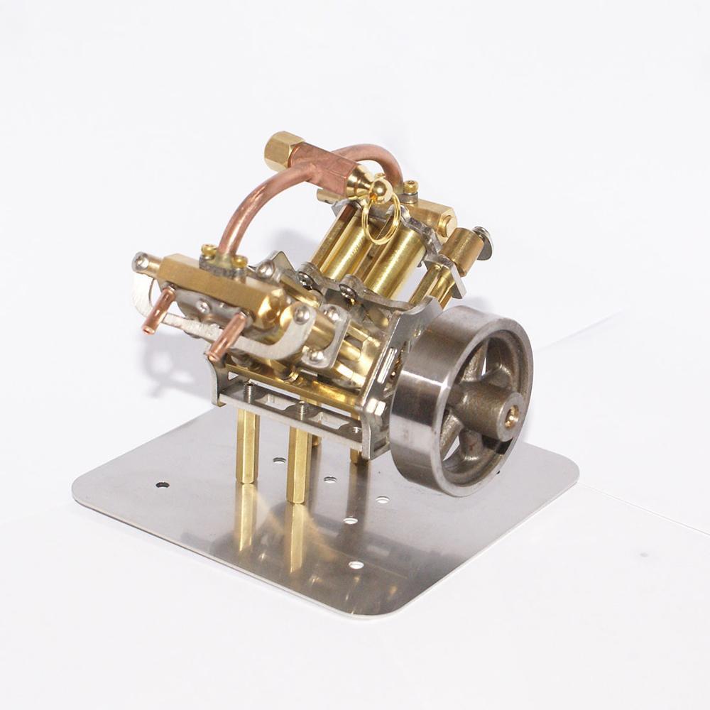 90x85x70mm mini V4-Steam modelo de motor a vapor em miniatura sem caldeira 2020 chegada nova