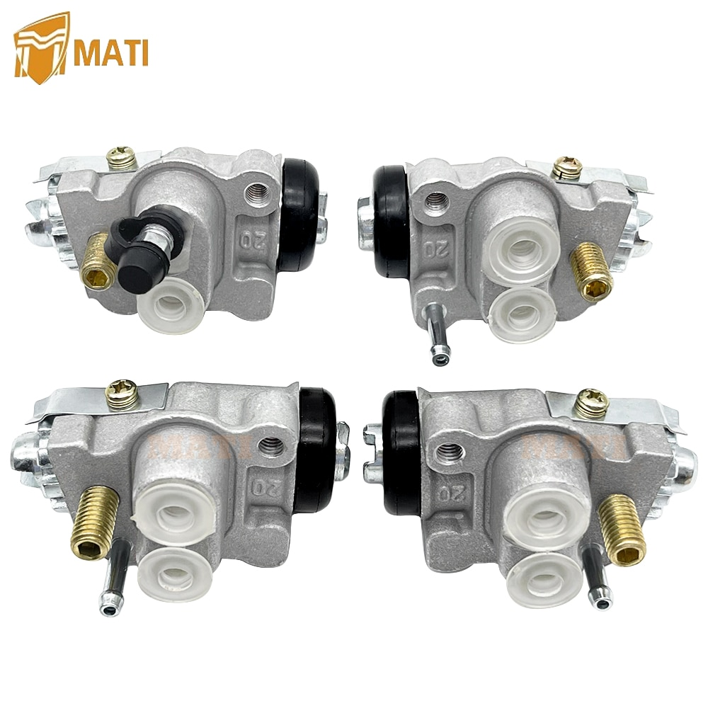 Left Right Front Brake Wheel Cylinders all 4 Set for Honda TRX400 TRX400FW FourTrax Foreman 400 4x4 1995-1998 enlarge