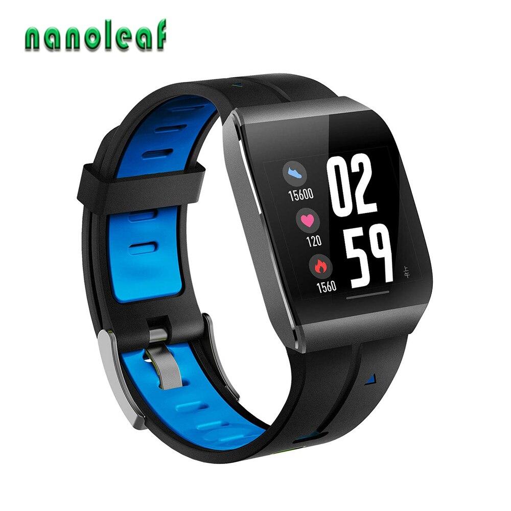 Reloj inteligente X1 para hombre con pantalla a Color de 1,3 pulgadas IP68, Monitor de ritmo cardíaco resistente al agua, 30 días de largo tiempo en espera, reloj inteligente, rastreador de Fitness