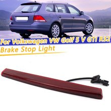 COOYIDOM Car 3rd Brake Lamp High Mounted Light Fits For VW Mk5/R32 2005-2009 1K6945097F 1K6 945 097 F Car Brake Lamp