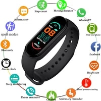 fintess bracelet m6 smart band 6 global version men women smartband sport waterproof pedometer gifts kids smartwatch android
