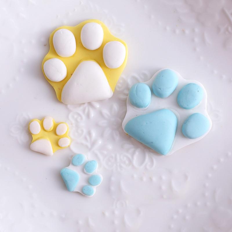 Molde de pastel de silicona perro hueso forma Muffin bandeja caramelo gelatina galleta Chocolate molde para hornear herramienta de JS22