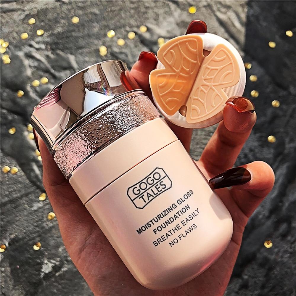 Gogo Tales Qin Yun Soft Light base líquida estudiantes barato corrector crema hidratante base