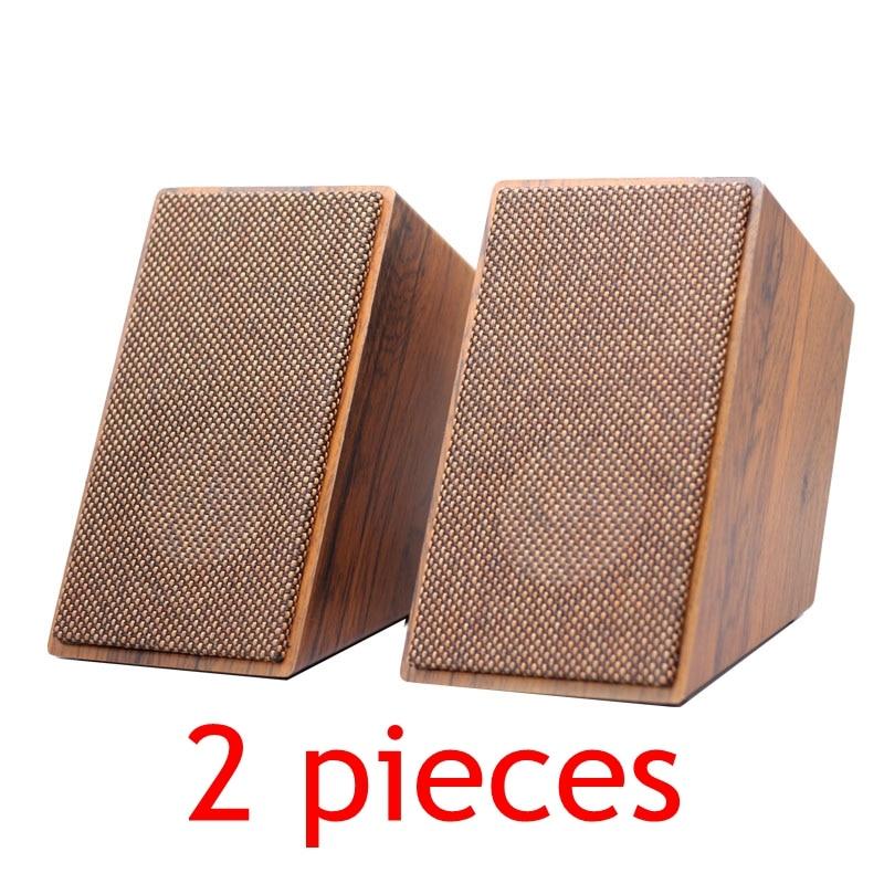 ريترو أربعة بوصة 4 بوصة بانورامية الصوت مكبر صوت ساكن الجدار الشنق المحيطي الجبهة رف الكتب صندوق 2.0/5.1/مكبر للصوت الصوت