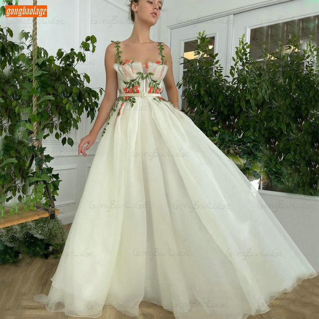 Encantador blanco baile Vestido De las mujeres 2021 Vestido De Fiesta De...