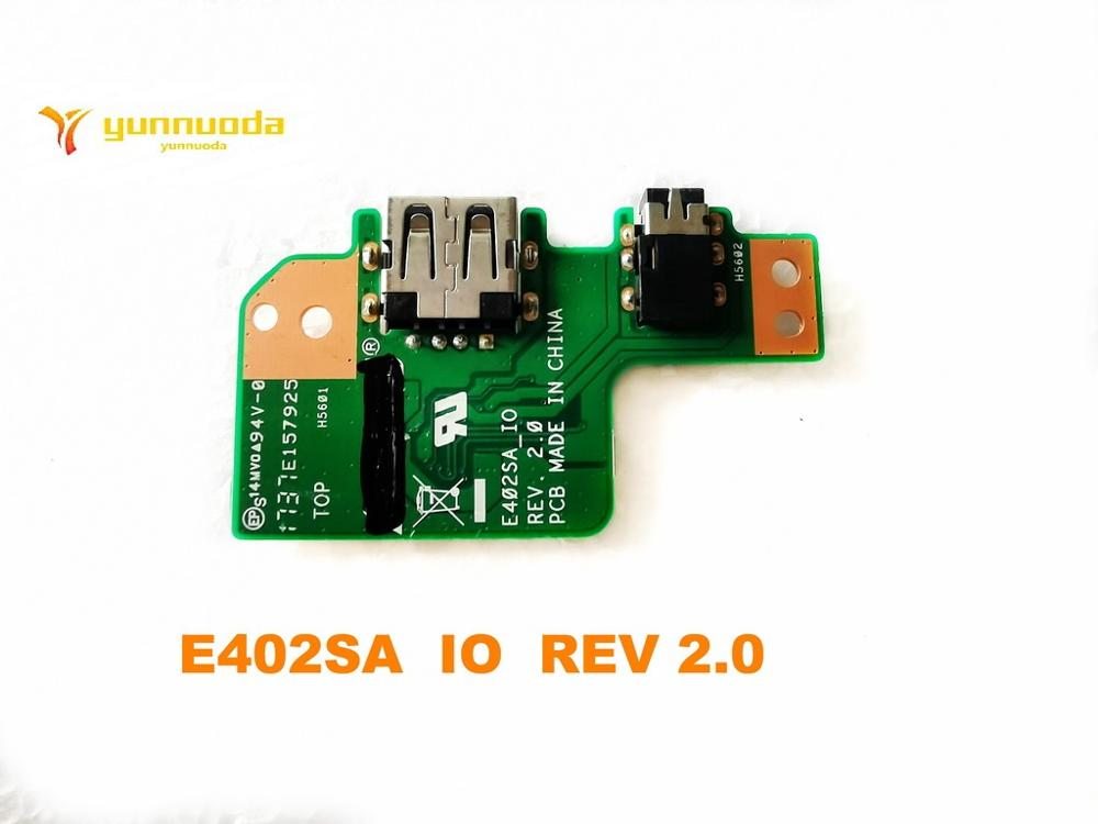 Placa USB Original para ASUS E402SA, tarjeta de Audio E402SA IO REV 2,0 probada, envío gratis