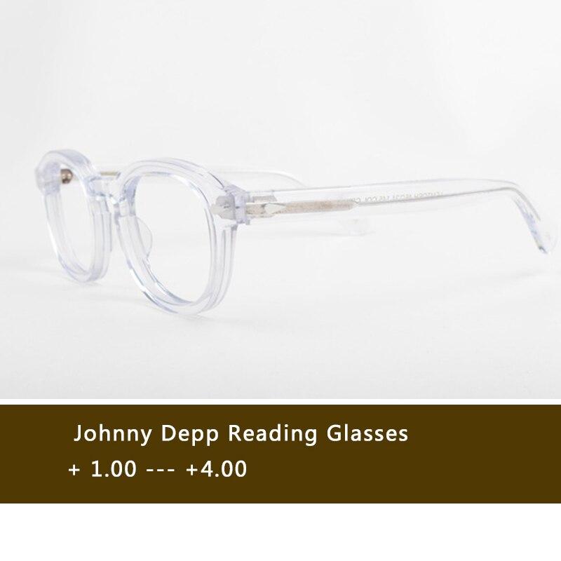 Gafas de lectura para hombre y mujer con marco de acetato y dioptrías presbioptras + 1,0 + 1,5 + 2,0 + 2,5 + 3,0 + 3,5 + 4,0 hecho a mano