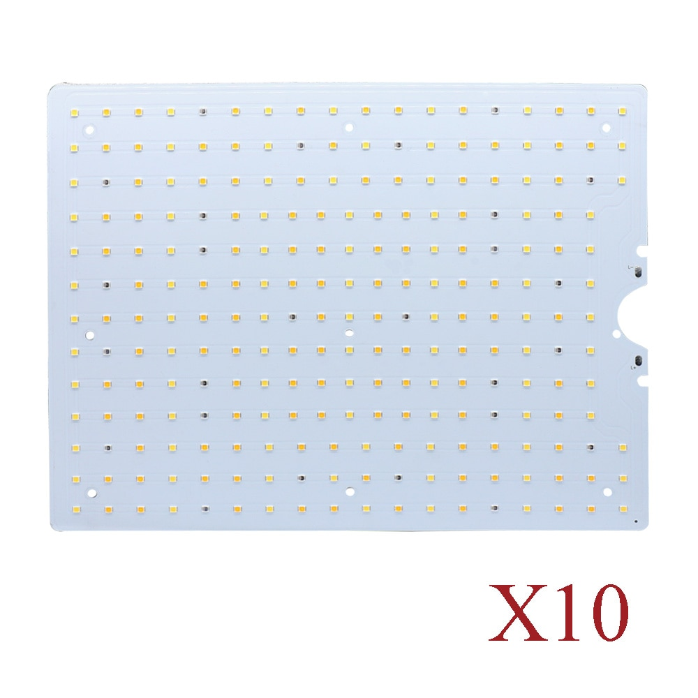 10Pcs/Pack Samsung LM281B 3000K 5000K Red 660nm Infrared 730nm 120W LED Grow Lamp Quantum PCB Board Panel for Horticulture Light