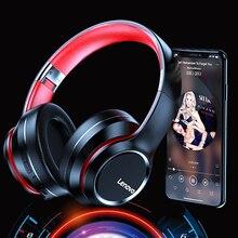 Беспроводные наушники Lenovo HD200, Bluetooth 5,0 гарнитура с сабвуфером, Спортивная гарнитура для бега, унисекс, шумоподавление, Видеозвонок