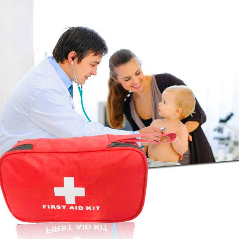 299 Pcs Erste Hilfe Energency Kit Camping Sport Reise Auto Home Medical Bag Außen Amerikanische Rote Kreuz Guide Handtasche